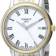 Tissot Men's T0854102201300 Carson Analog | 100% original, import SUA, 10 zile lucratoare a32207 - Ceas barbatesc Tissot, Quartz