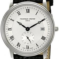 Frederique Constant Men's FC245M4S6 Slim | 100% original, import SUA, 10 zile lucratoare a32207 - Ceas barbatesc Frederique Constant, Quartz