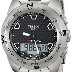 Tissot Men's T0134204420100 T-Touch Expert | 100% original, import SUA, 10 zile lucratoare a32207 - Ceas barbatesc Tissot, Quartz