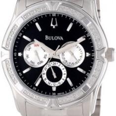 Bulova Men's 96E115 Diamond Case | 100% original, import SUA, 10 zile lucratoare a22207 - Ceas barbatesc Bulova, Quartz