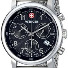 Wenger Men's 01 1043 102 | 100% original, import SUA, 10 zile lucratoare a22207 - Ceas barbatesc Wenger, Quartz