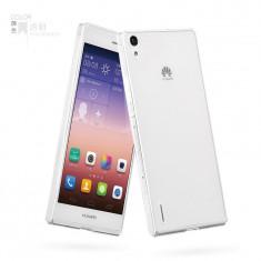 Husa/toc PREMIUM HOCO Light HUAWEI ASCEND P7, ultra slim, culoare TRANSPARENT - Husa Telefon Hoco, Gel TPU