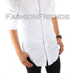 Camasa FASHION tip Zara - camasa barbati - camasa slim - cod 4819, Marime: L, Culoare: Din imagine, Maneca lunga