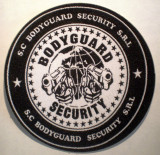5.511 ROMANIA ECUSON BODYGUARD SECURITY 90mm