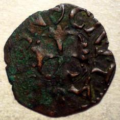 F.313 ITALIA REPUBLICA SIENA QUATTRINO sec. XII-XVI 0, 6g/17mm - Moneda Medievala, Europa, An: 1600