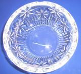 Cristal BOHEMIA  Scrumiera rotunda diametru 14.5 cm cod 79001.99004.145