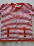 Bluzita cu maneca treisfert, 4-6 ani, marca Zara, 104 cm, tricotaj, Fete