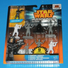 Set 9 FIGURINE STAR WARS COMMAND IMPERIAL ASSAULT AGENT KALLUS 1:32 - Miniatura Figurina