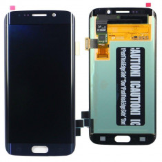 Ansamblu Lcd Display Touchscreen touch screen Samsung Galaxy S6 Edge Blue Albastru ORIGINAL - Display LCD