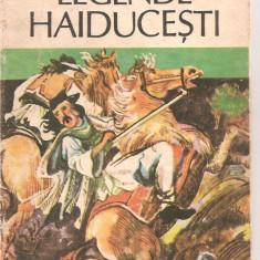 (C6074) LEGENDE HAIDUCESTI DE MIRCEA POPESCU - Nuvela
