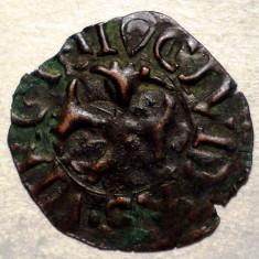 F.312 ITALIA REPUBLICA SIENA QUATTRINO sec. XII-XVI 0, 37g/17mm - Moneda Medievala, Europa, An: 1600