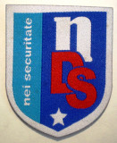 5.510 ROMANIA ECUSON NDS NEI SECURITATE 60/49mm