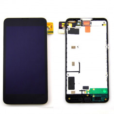 Ansamblu Lcd Display Touchscreen touch screen Nokia Lumia 630 ORIGINAL - Touchscreen telefon mobil