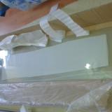 Perete (geam) din sticla securizata pentru cabina de dus cu hidromasaj