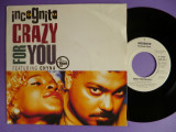 """Incognito ft Chyna - Crazy for you '91 Disc vinil single 7"""" Electronic/Acid Jazz"""