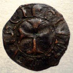 F.306 ITALIA REPUBLICA SIENA QUATTRINO sec. XII-XVI 0, 77g/17mm - Moneda Medievala, Europa, An: 1600
