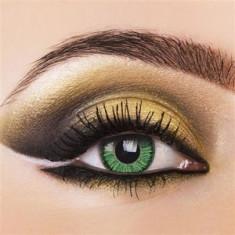 Lentile de contact colorate Vivid Green Pentru 3 luni. Livrare imediata din stoc