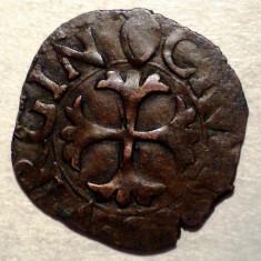 F.307 ITALIA REPUBLICA SIENA QUATTRINO sec. XII-XVI 0, 88g/17mm - Moneda Medievala, Europa, An: 1600