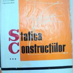 STATICA CONSTRUCTIILOR III -ALEXANDRU A.GHEORGHIU - Carti Mecanica