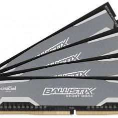 Memorie Crucial BLS4C4G4D240FSA Ballistix Sport 16GB (4x4GB) 2400MHz CL16 - Memorie RAM