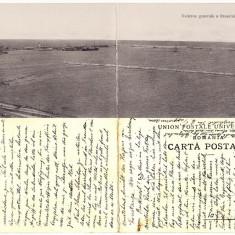 Constanta- Portul . Vapoare. Carte postala dubla. Clasica.RR