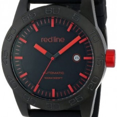 Red line Men's RL-50045-BB-01RD-BK-ST Mileage | 100% original, import SUA, 10 zile lucratoare a22207 - Ceas barbatesc Red Line, Mecanic-Automatic