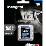 Card memorie Integral UltimaPro SDHC, 16 GB, clasa 10, UHS-I - Multimedia card