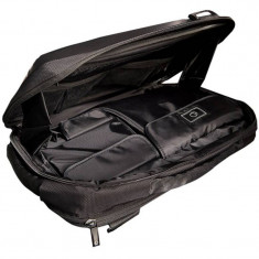 4World geanta + rucsac notebook 08581 15.6 inch, negru - Geanta laptop 4World, Nailon