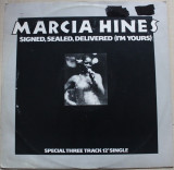 Marcia Hines - Signed, Sealed, Delivered, I'm Yours  Disc vinil maxi single 1978