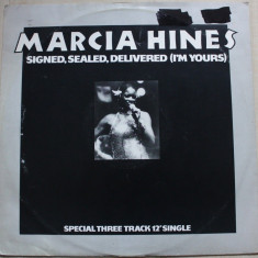Marcia Hines - Signed, Sealed, Delivered, I'm Yours (1978, Logo) - Muzica Blues, VINIL