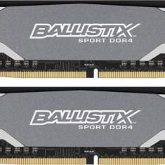 Memorie Crucial BLS2C8G4D240FSA Ballistix Sport, 2x8GB DDR4 2400MHz, CL16 - Memorie RAM