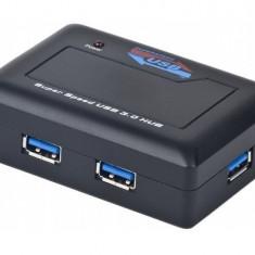 Gembird Hub USB Gembird UHB-C344, 4 x USB 3.0