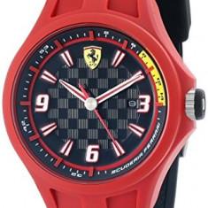 Ferrari Men's 0830006 Pit Crew | 100% original, import SUA, 10 zile lucratoare a22207 - Ceas barbatesc Ferrari, Quartz