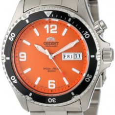 Orient Men's CEM65001M Orange Mako | 100% original, import SUA, 10 zile lucratoare a22207 - Ceas barbatesc Orient, Mecanic-Automatic