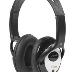 Casti nJoy Masso headset, negre - Casti PC