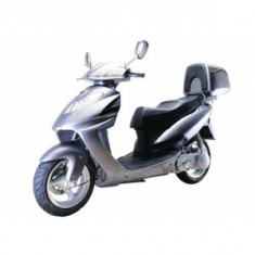 Motocicleta/Scooter 2012 doar 750 km, Lifan LF50QT-15A, Gri, Benzina