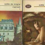 Adele de Boigne - MEMORII VOL. 1 -3 - Roman, Anul publicarii: 2015