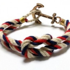 Bratara Nautica/Ancora - Kiel James Patrick - unisex - Bratara Fashion
