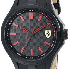 Ferrari Men's 830215 Pit Crew | 100% original, import SUA, 10 zile lucratoare a22207 - Ceas barbatesc Ferrari, Lux - sport, Quartz