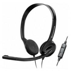 Casti Sennheiser PC 36 CALL CONTROL VoIP Headset, negre - Casti PC