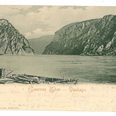 2932 - ORSOVA, KAZANE - old postcard - used - 1907 - Carte Postala Oltenia 1904-1918, Circulata, Printata