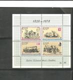 GRECIA 1978 – TRANSPORTURI POSTALE, colita nestampilata, B42