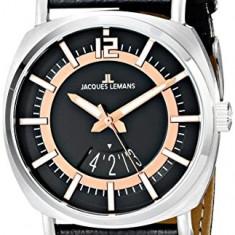 Jacques Lemans Men's 1-1740C Lugano | 100% original, import SUA, 10 zile lucratoare a22207 - Ceas barbatesc Jacques Lemans, Sport, Quartz