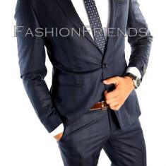 Costum tip ZARA - sacou + pantaloni - costum barbati casual office - 4877, Marime: 46, Culoare: Din imagine
