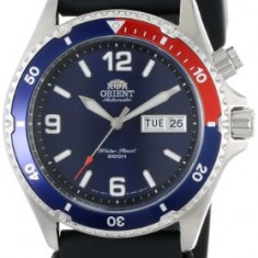 Orient Men's CEM65003D Blue and | 100% original, import SUA, 10 zile lucratoare a22207 - Ceas barbatesc Orient, Mecanic-Automatic