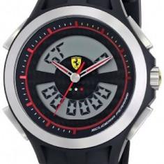 Ferrari Men's 830066 Lap Time | 100% original, import SUA, 10 zile lucratoare a22207 - Ceas barbatesc Ferrari, Lux - sport