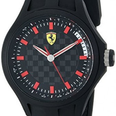 Ferrari Men's 0830172 Pit Crew | 100% original, import SUA, 10 zile lucratoare a22207 - Ceas barbatesc Ferrari, Lux - sport, Quartz