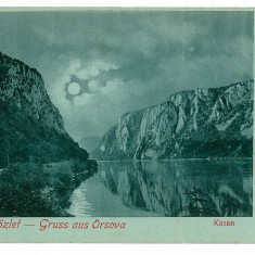 2926 - ORSOVA, Kazane - old postcard - unused - Carte Postala Oltenia pana la 1904, Necirculata, Printata