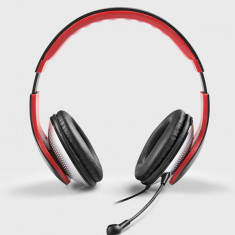 Casti Edifier K830 Stereo Headset cu microfon, negre - Casca PC