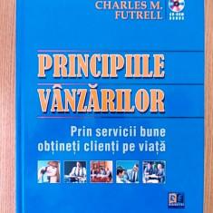 PRINCIPIILE VANZARILOR- CHARLES M. FUTRELL + CD-ROM, CARTONATA - Carte Management